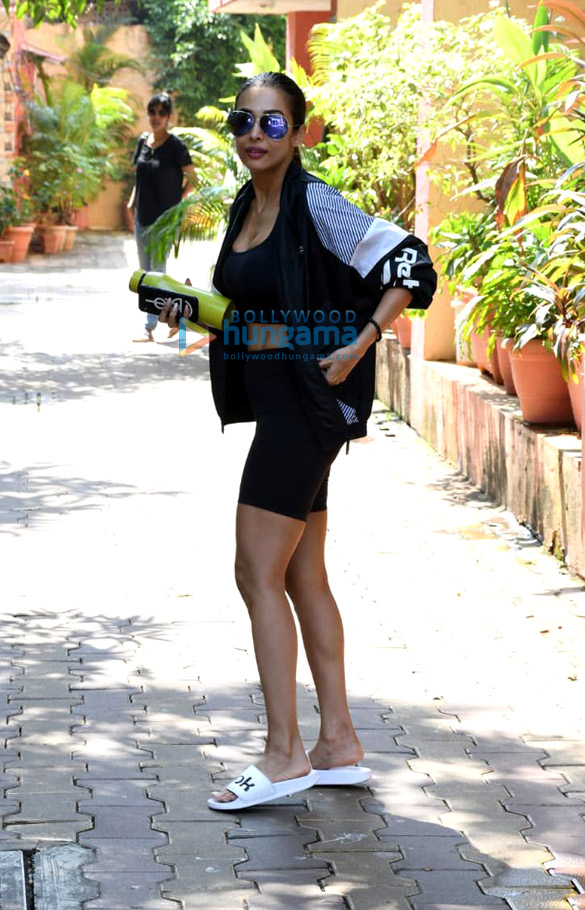 Photos: Malaika Arora snapped at Diva Yoga Studio in Bandra