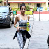 Photos: Malaika Arora spotted at I Think Fitness