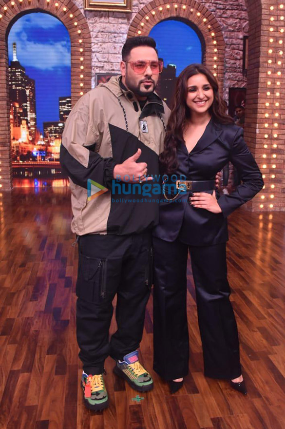 Photos Parineeti Chopra snapped on the sets of the show Movie Masti-011 (1)