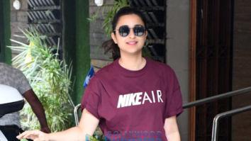 Photos: Parineeti Chopra spotted at Khar gymkhana