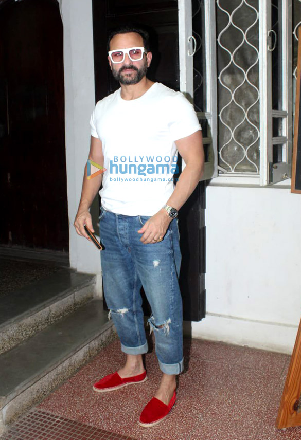 Photos: Saif Ali Khan spotted at Krome Studios in Bandra