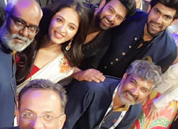 Prabhas joins team Baahubali in London for the royal reunion