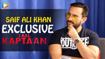 """Saif Ali Khan EXCLUSIVE On Laal Kaptaan """"This FILM is like a Graphic Novel"""" Anand L. Rai Accent"""