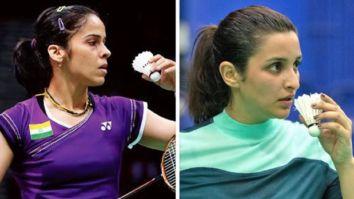 Saina Nehwal wishes Parineeti Chopra as she kick-starts shooting for Saina's biopic