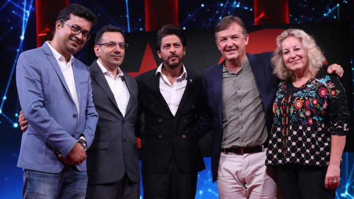 Shah Rukh Khan and others grace the press conference of TED Talks India- Nayi Baat Part 1
