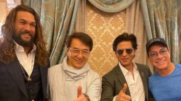 Shah Rukh Khan shares a frame with Jason Momoa, Jackie Chan, and Jean-Claude Van Damme in Saudi Arabia