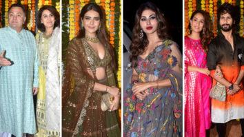 Shahid Kapoor, Rishi Kapoor, Mouni Roy & others at Ekta Kapoor's GRAND Diwali Bash Part 1