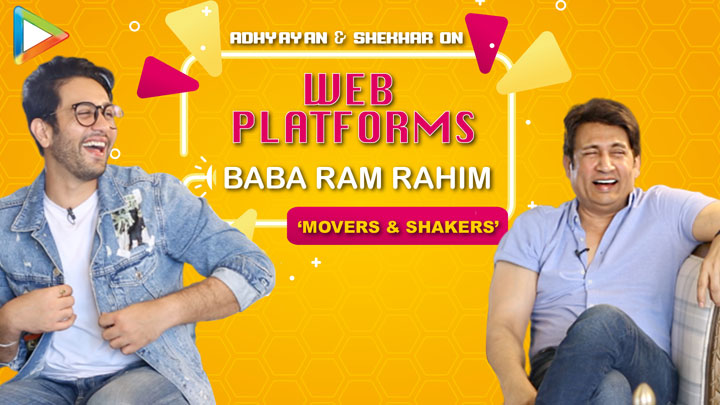 """Shekhar """"Movers & Shakers is an IDEAL Show for today's times..."""" Baba Ram Rahim Adhyayan Suman"""