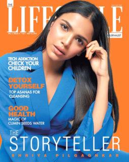 Shriya Pilgaonkar On The Cover Of Lifestyle