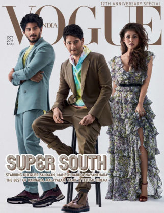 South superstars Dulquer Salmaan, Mahesh Babu and Nayanthara's impeccable style on Vogue India cover has left us swooning