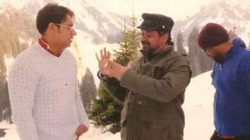 Throwback Thursday: Anees Bazmee shares an unseen photo with Ajay Devgn from the unreleased movie Naam