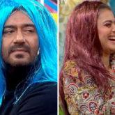 VIDEO: Ajay Devgn and Kajol wear colourful wigs on Maniesh Paul's show Movie Masti