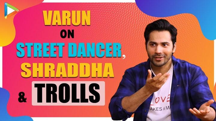Varun Dhawan responds to TROLLS on social media Shraddha is making... Importance of friends