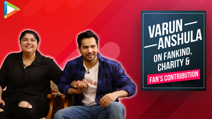 """Varun Dhawan was KIND enough to be first celebrity who…"""" Anshula Kapoor Fankind"""
