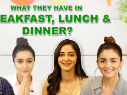 What Do You Have in Breakfast, Lunch & Dinner Hrithik, Alia, Shraddha, Ananya, Sunny Answer