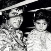 Throwback: Ahead of Amitabh Bachchan's birthday, Shweta Bachchan shares an adorable throwback picture