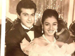 Throwback: Sanjay Kapoor shares rare images from the film Prem with co-star Tabu