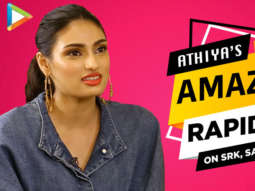 """""""I'd like to DATE Raj from DDLJ"""" Athiya Acting Tips from SRK Ya Fitness Tips from Salman Khan"""