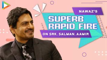 """Shah Rukh – King of Romance, Salman – Sabka Bhai, Aamir – Mr. Perfectionist"" Nawaz Rapid Fire"