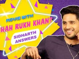 """Shah Rukh Khan is somebody I've started…"" Sidharth Malhotra Varun Alia Twitter Fan Questions"