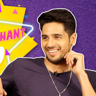 """Shah Rukh Khan is somebody I've started…"" Sidharth Malhotra Varun Alia Twitter Fan Questions"