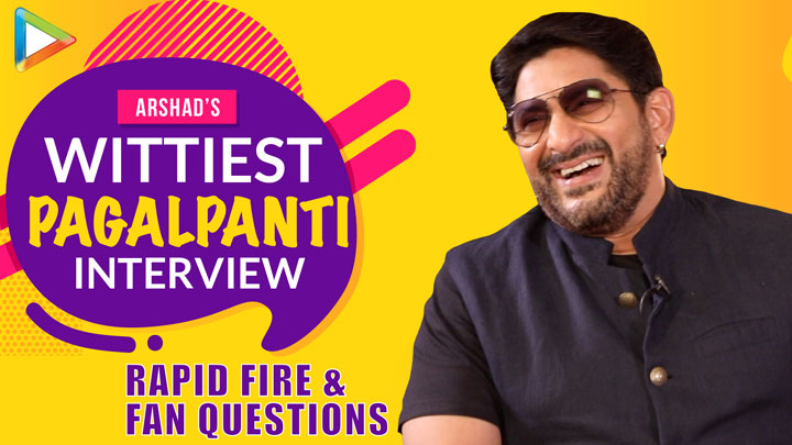 """Shah Rukh needs to STAY AWAY from…"" Arshad's PAGALPANTI Interview Rapid Fire Fan Questions"