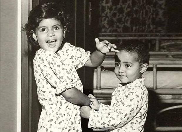 Amitabh Bachchan shares a throwback picture of Abhishek Bachchan and Shweta Bachchan in their prime!