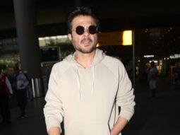 Anil Kapoor spotted at Airport, Mumbai
