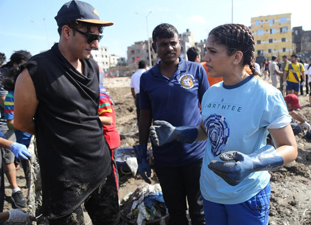 Climate Warrior Bhumi Pednekar teams up with climate activist Afroz Shah for beach conservation!