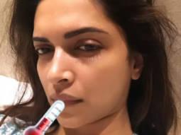 Deepika Padukone falls sick after attending a friend's wedding