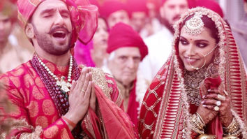 Deepika Padukone shares a quirky picture of Ranveer Singh as he pampers himself ahead of their first wedding anniversary