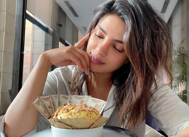 Priyanka Chopra indulges in a 'wealthy dessert'