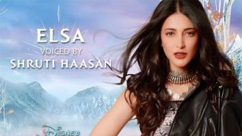 FROZEN 2: Shruti Haasan to voice and sing for Elsa in Tamil version