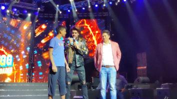 FUNNY Maniesh Paul interacts with Salman Khan fans at DA-BANGG Concert, Dubai