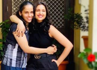 Saina Nehwal biopic: Parineeti Chopra makes a comeback on the badminton court after neck injury