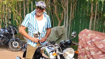 Jackie Shroff goes desi, buys India's most iconic motorbike the Royal Enfield worth approx. Rs. 3.5 lakhs