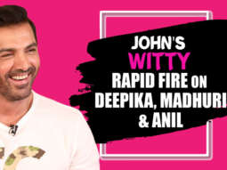John Abraham I share BEST CHEMISTRY with Deepika Padukone because... Rapid Fire Pagalpanti