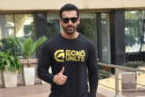 John Abraham spotted promoting Pagalpanti