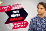 """Jyoti Kapoor """"My request to all the writers…"""" Good Newwz Badhaai Ho Writer's Credit Controversy"""