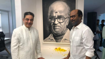 Kamal Haasan and Rajinikanth pay tribute to their mentor, unveil K Balachander's statue in Chennai