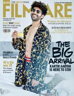 Kartik Aaryan On The Cover Of Filmfare