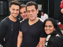 PICTURES Aayush Sharma and Arpita Khan Sharma celebrate 5 years of love with close friends and family