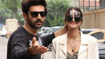 PICTURES Kartik Aaryan and Ananya Panday get their off-screen fun on!