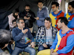 On The Sets From The Movie Pagalpanti