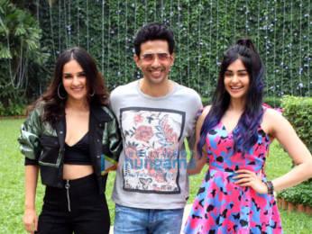 Photos: Adah Sharma, Gulshan Devaiah and Angira Dhar snapped during Commando 3 promotions