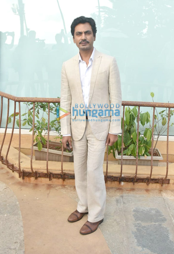 Photos: Nawazuddin Sidiqui snapped during Motichoor Chaknachoor promotions