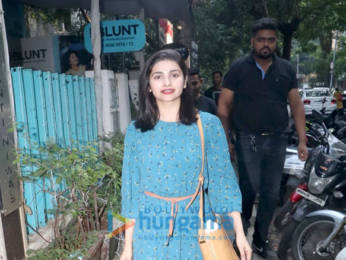 Photos: Dia Mirza and Prachi Desai spotted at BBlunt salon, Khar