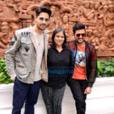 Photos: Sidharth Malhotra and Riteish Deshmukh, Manisha Advani snapped during Marjaavaan promotions at Imperial, New Delhi
