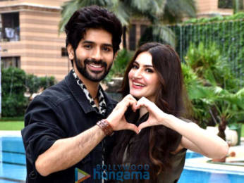 Photos: Vardhan Puri and Shivaleeka Oberoi snapped promoting Yeh Saali Aashiqui