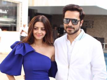 Photos: Vedhika Kumar and Emraan Hashmi snapped promoting the film The Body